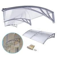 Manual window awning material polycarbonate awning brackets for plastic covering awning or shop front canopy