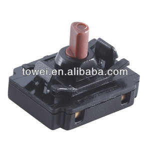 Contemporary stylish 6 position rotary selector switch