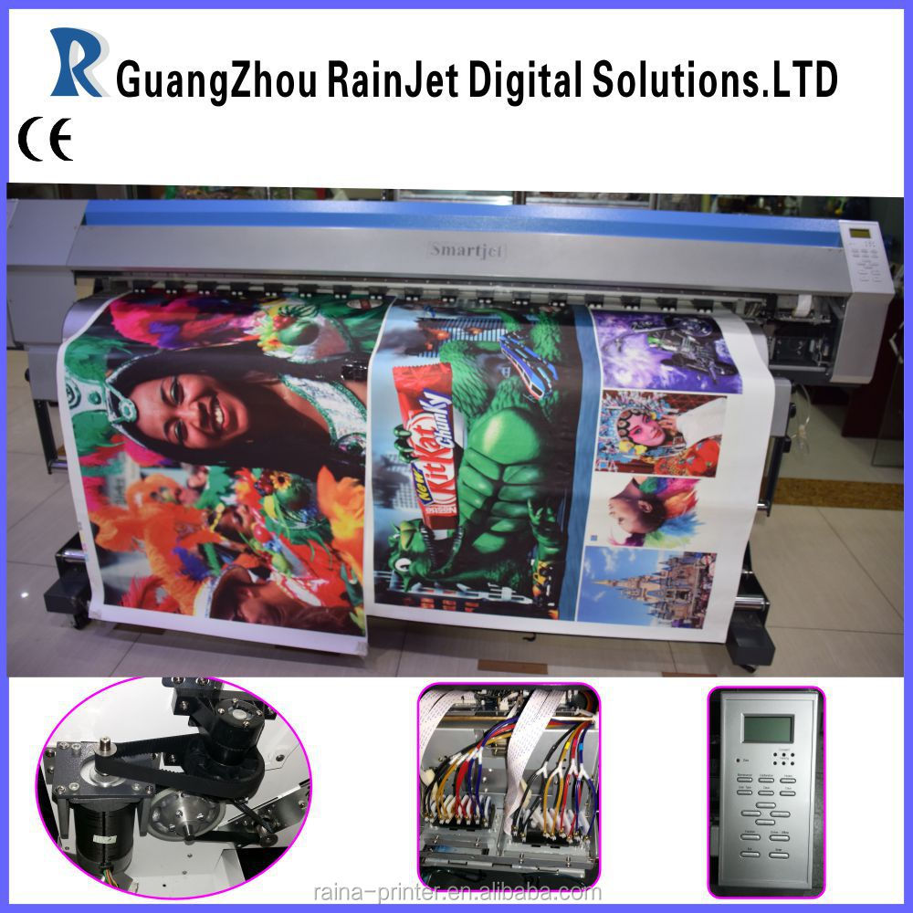 Dx5/dx7 print head eco solvent printer ink jet printer(6feet format,Maintop/Photoprint rip)