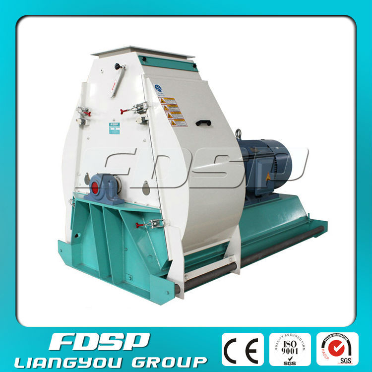 Hot Sale Easy Maintenance Corn Grinder Making Machine for Shrimp Feed with 30tph Capacity