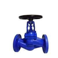 WCB bellow seal globe valve made in china