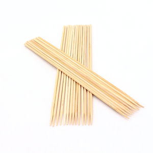 Natural skewer bamboo marshmellow roasting barbecue sticks