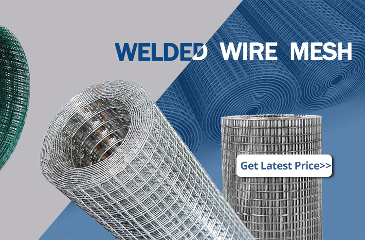 welded wire mesh rolls for concrete construction