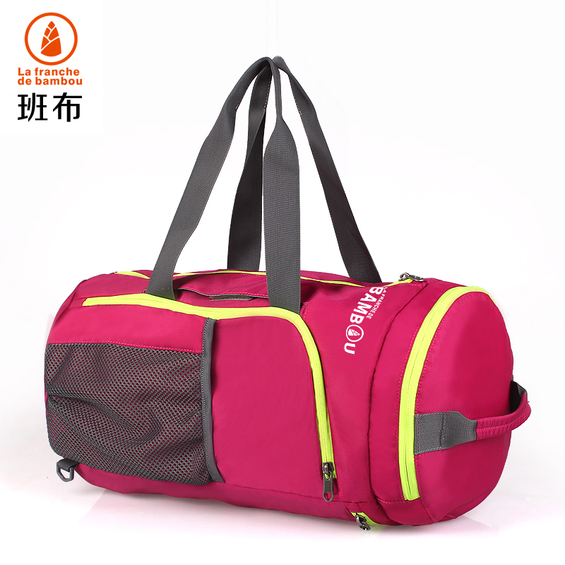 Designer fold big portable travel handbag big portable gym shoulder travel bag women outdoor multifunction luggage duffele bag