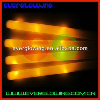yellow led foam stick