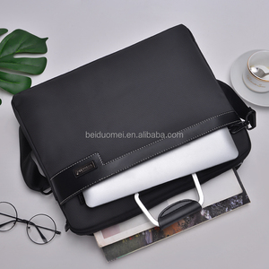 Italian Technics High-capacity Custom Men Office Business Hand Bag Briefcase
