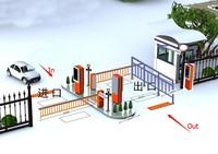 Automatic Parking System Car Parking Barrier Gate - Buy Barrier ...