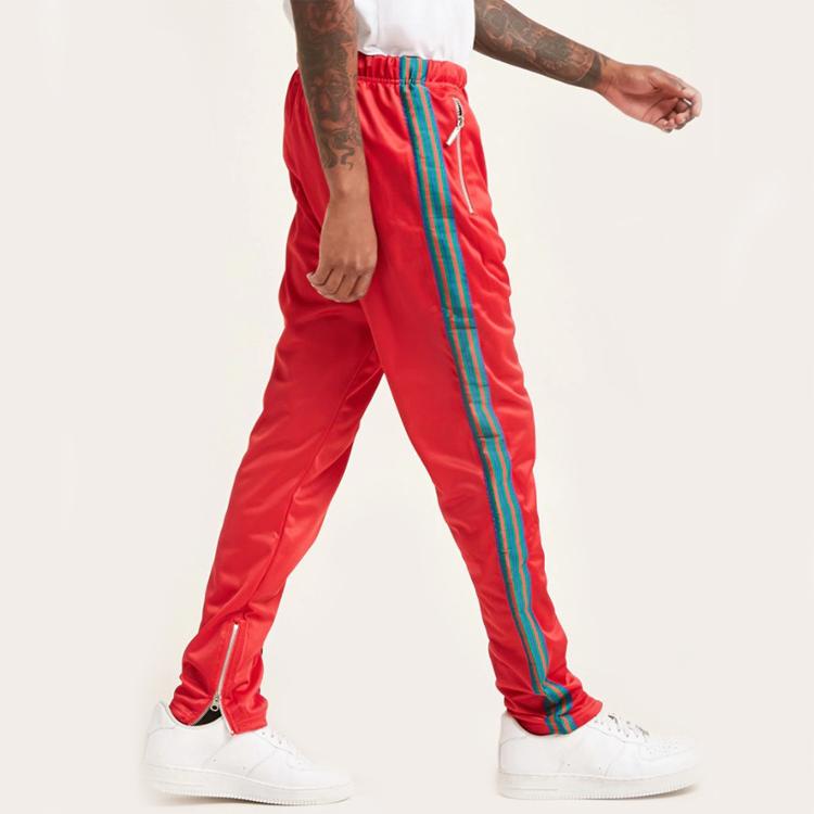 Custom Men Casual pants Elastic Waist Streetwear Jogger Pants Mens Sweat Suits Sets Jogger