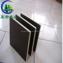 High quality waterproof black film faced plywood and construction plywood used