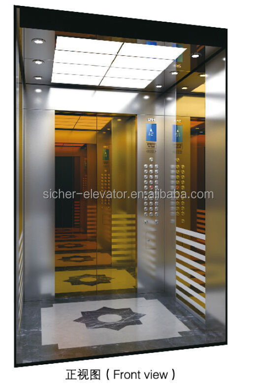HOT! Zhejiang passenger elevator lifts OEM fire proof WITTUR door CU-TR