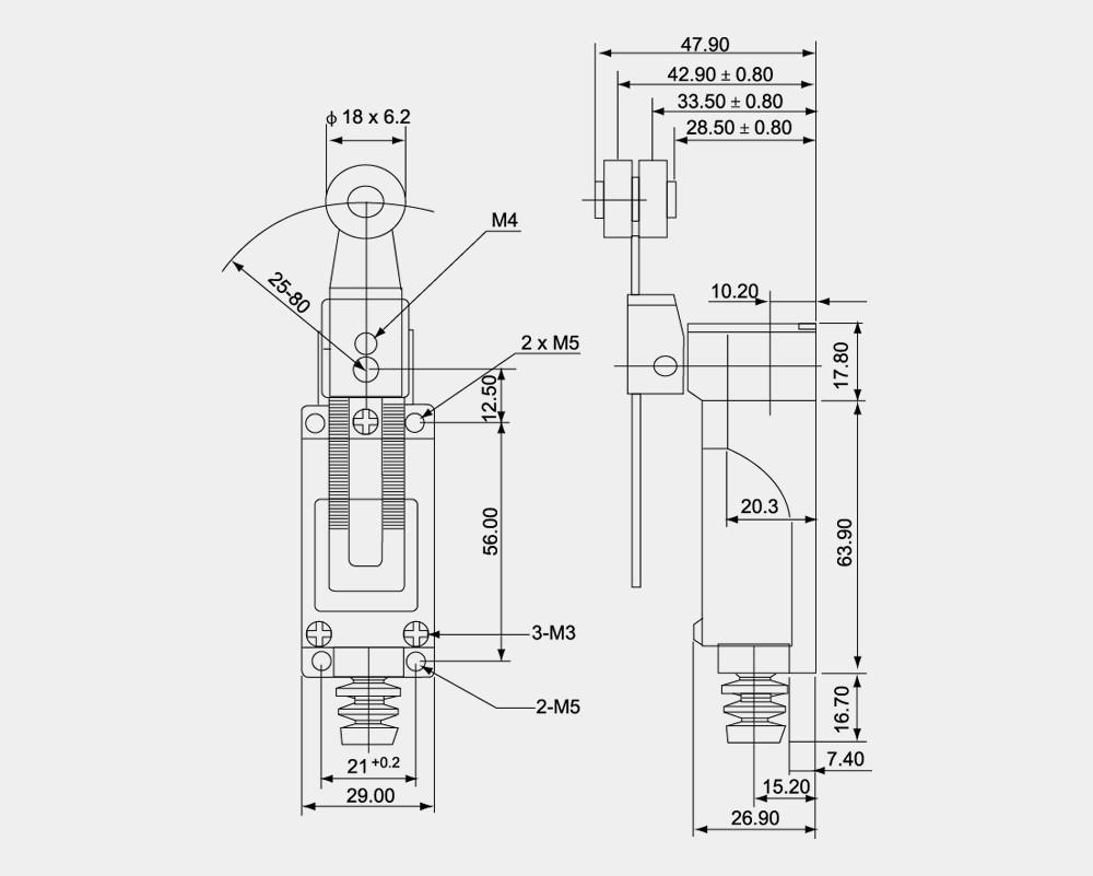 elevator limit switch manufacturer tz az cz me 8108