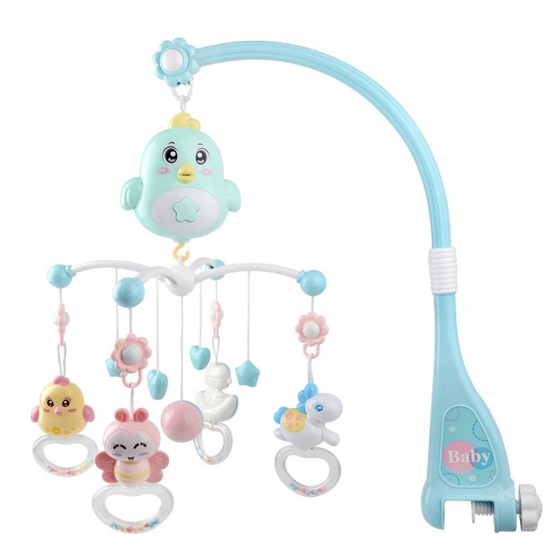 Baby Rattles Diy Crib Bed Bells Diy Cot Mobile Nursery Mobile Felt Ball Baby Mobile Musical Buy Baby Mobiles Bed Mobiles Musical Mobile Product On