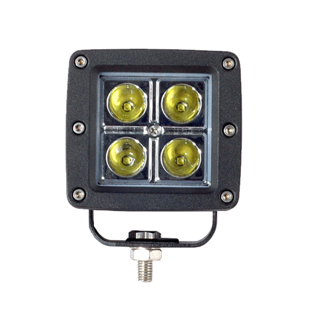 Auto parts 12V 16W square waterproof qualified led truck light,led offroad light, LED worklight