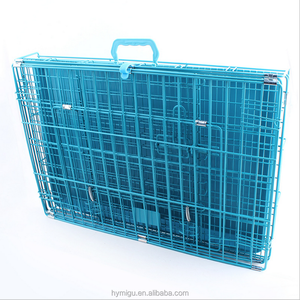wholesale dog show cages with three colors,Heavy-Duty Folding Metal durable dog show cage