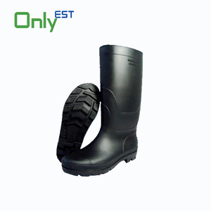 New product rubber rain boots PVC plastic over the knee rubber boots