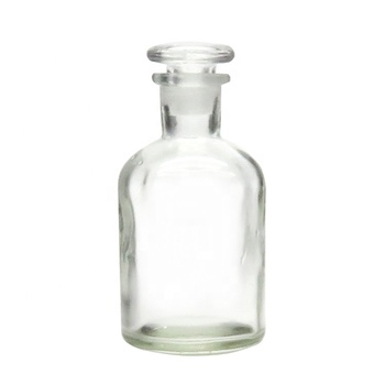 Transparent Glass Reagent Bottle For Apothecary Home Decor With Glass Stopper Buy Glass Reagent Bottle Reagent Bottle Transparent Glass Bottle Product On Alibaba Com