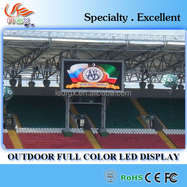 RGX P16 outdoor full color vertical large size advertising led digital screen display billboard