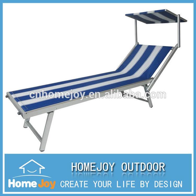 High Quality Aluminum Sun Lounger, Outdoor Sun Loungers, Sun Lounger Uk  With Canopy Part 87