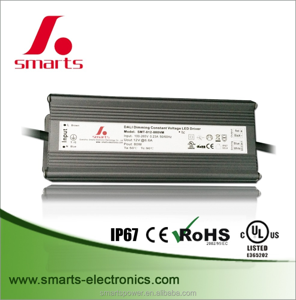 dali dimming constant current dimmable led driver 63W