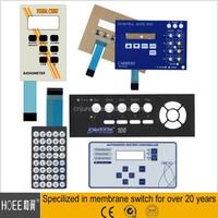 Chian custom made membrane switch keypad/keyboard manufacturer