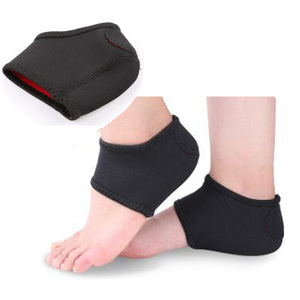 New Arrival soft high elastic protector Sport shock compression neoprene heel sleeve sock cushion brace NCS301