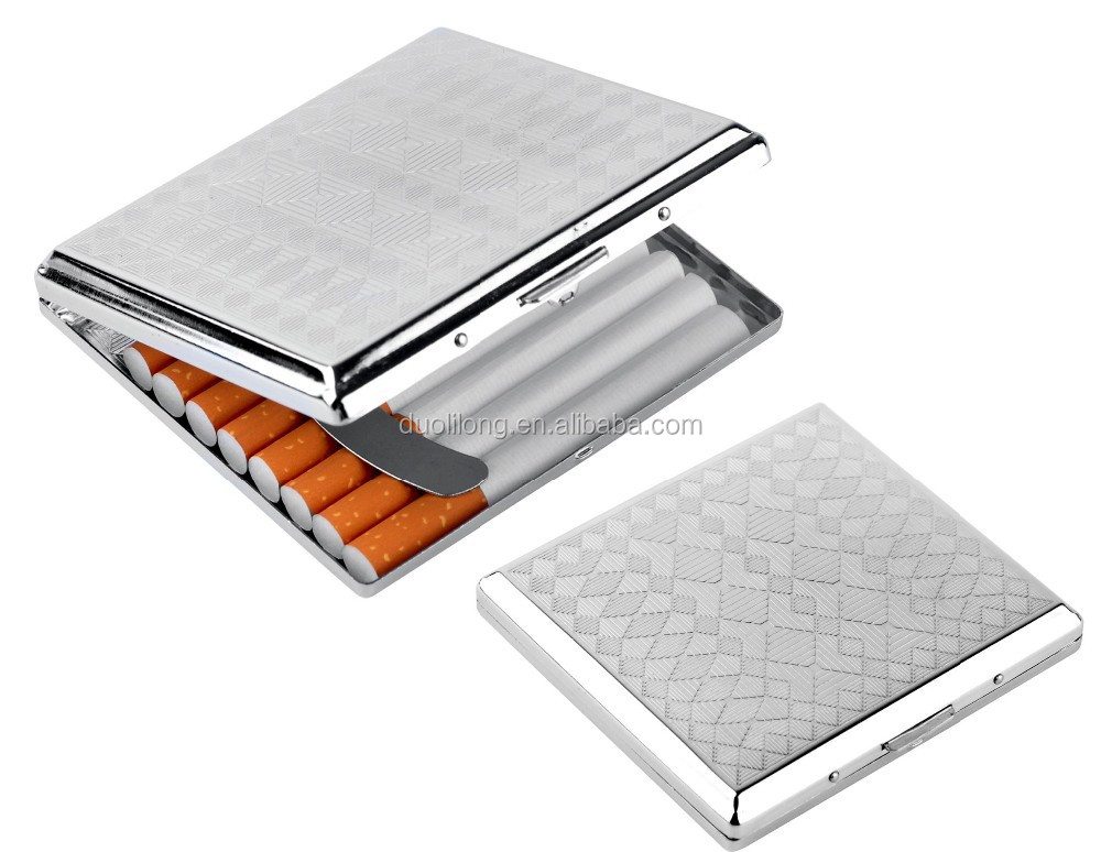 Metal Cigarette case for 20cigarettes