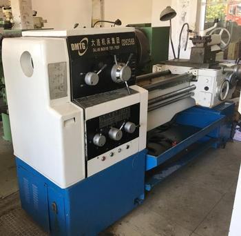 Old/used universal gap-bed type CD6256B 1500mm lathe for sale