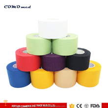 Printed rigid cotton fabric athletic sports tape
