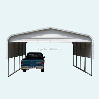 Metal Building Larde Steel Frame Car Shelter - Buy Car Shelter ...