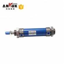 mini double acting oil hydraulic cylinder