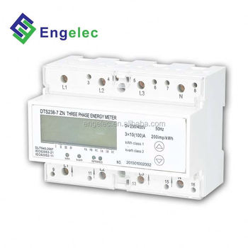 Dts238-7 Zn Energy Meter Three Phase Rs485 Remote Control Three-phase  Digital Electric Meter Hack - Buy Three-phase Digital Electric Meter  Hack,Rs485