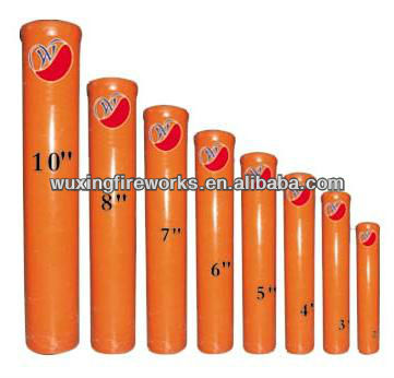 "9"" Fireworks fiberglass mortar tube for display fireworks"