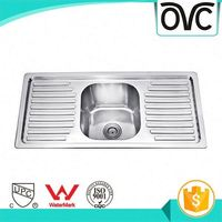 Stylish Commercial Certification Small Double Kitchen Sink With Good Quality