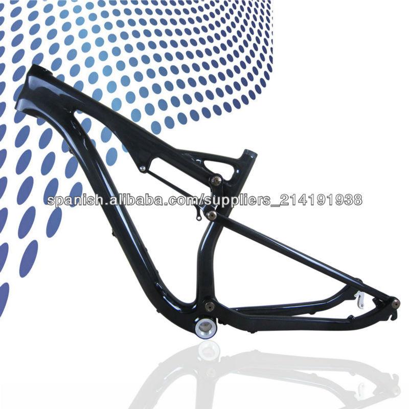 Milagro T700C de carbono de doble suspensión bicicleta de montaña ...