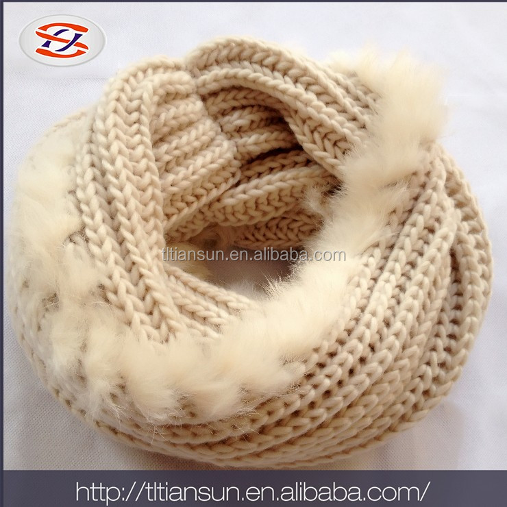 Top Plate Swivel Adjustable Industrial hot sell cotton feel snood scarf