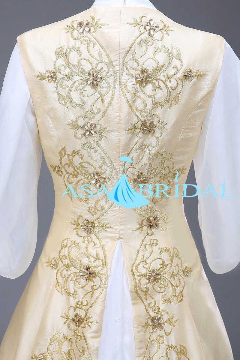 Rm20 Sicken Gold Islamischen Echte Bild Stickerei Muslimische Kopftuch  Hochzeitskleid - Buy Moslemisches Hijab Hochzeit Kleid,Stickerei  Muslimische