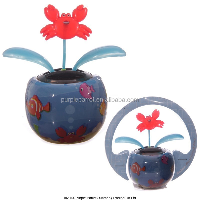 Crab Solar Buddy/solar Powered Toys/ Solar Toys For Car Decoration ...