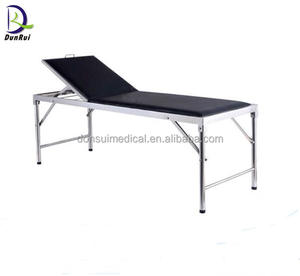 CE Approved Stainless Steel Examination Couch Hospital Bed