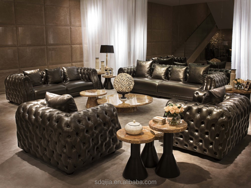 Best Sale Luxury Classic Leather Sofa