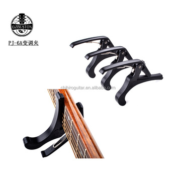 Black color guitar capo (6A)