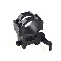Jialitte Hunting Flashlight accessories Optical Sight Bracket Picatinny Rail Rifle 25.4mm Ring Scope Mount