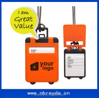 Custom Luggage Tag Plastic Luggage Tag