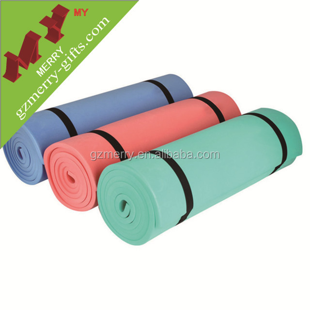 Eco safe washable custom eva yoga mat for floor exercise