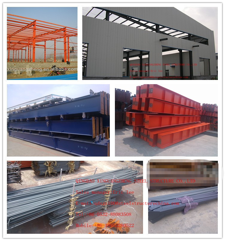 steel structure warehouse draw