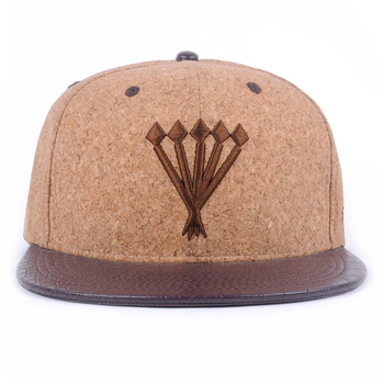 Wholesale Custom Cork Snapback Hat Cap And Leather Brim Hat - Buy ... 9299d3a48197