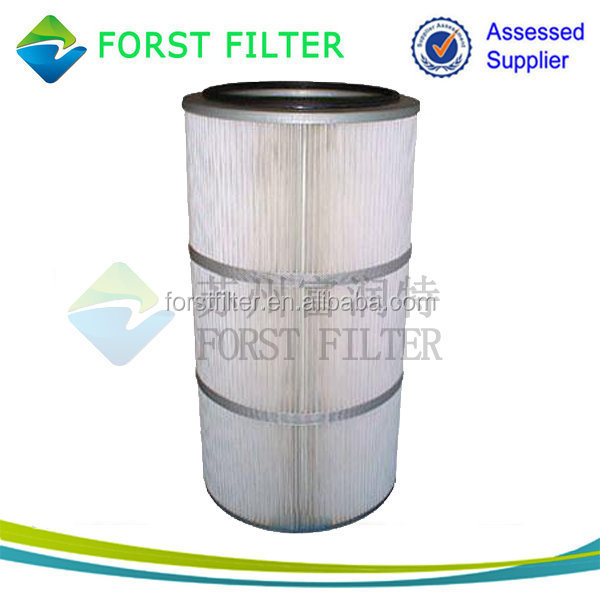 Polyester Pleated Pulse Jet PTFE Air Cartridge Filter