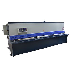 CHINA Hydraulic Shearing Machine / sheet Metal Guillotine Cutting