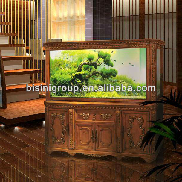 Bisini Luxury European Style Classical Aquarium Fish Tank Cabinet