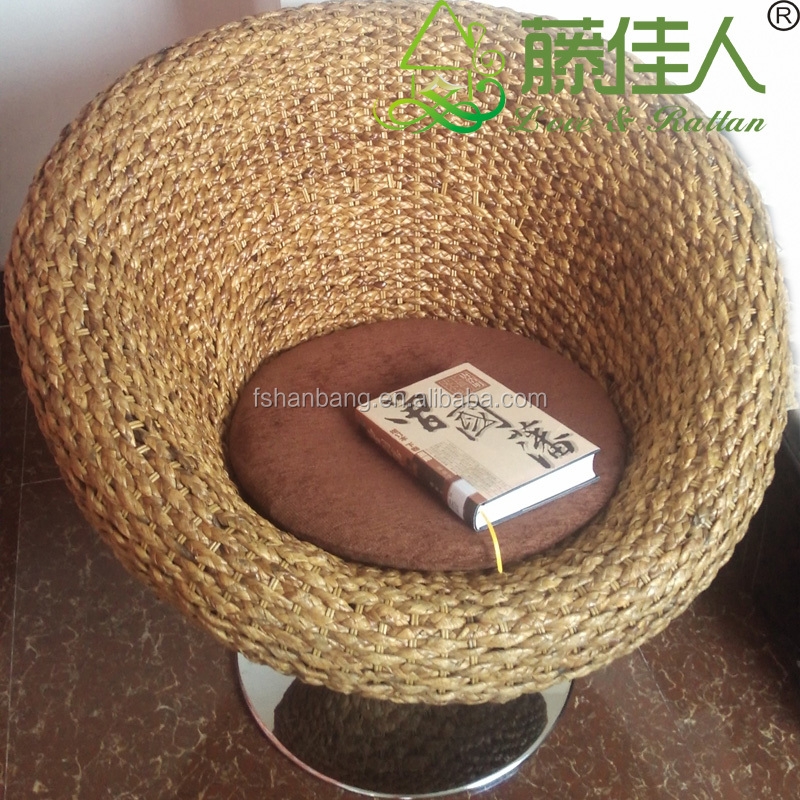 Good Super Comfortable Living Room Rattan Papasan Chair With Cushion