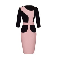 Z92152A Ladies Office Ladies Dresses Office Dress Designs Sexy Pencil Bodycon Office Women Dress
